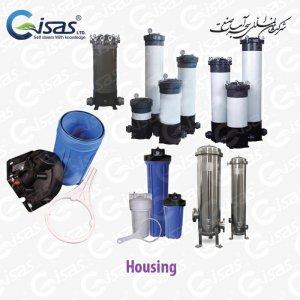 هوزینگ فیلتر میکرونی - استیل pvc و upvc و جامبو Micro Filtration Housing